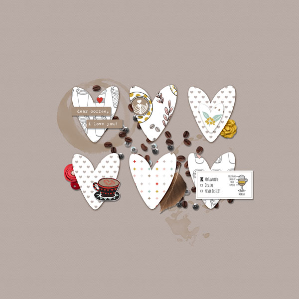 Coffee, I Love You (Rachel Etrog Designs)