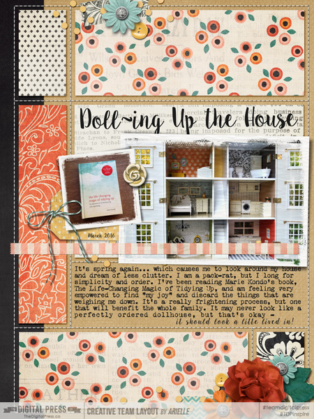 DOLL~ING UP THE HOUSE / ahg031116