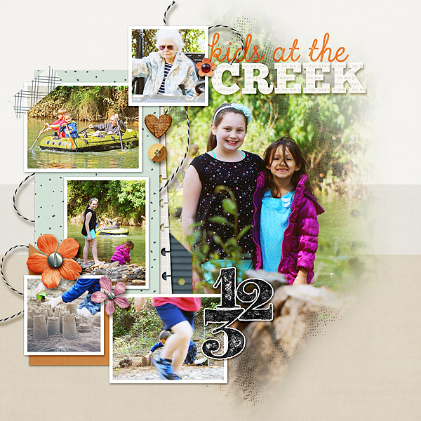 Kids At the Creek - P1