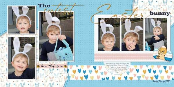 The cutest Easter bunny