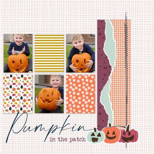 Cutest pumpkin (Double layout - right)