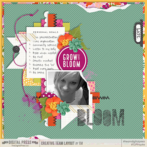 Feb. 2019 Digiscrap Parade Challenge