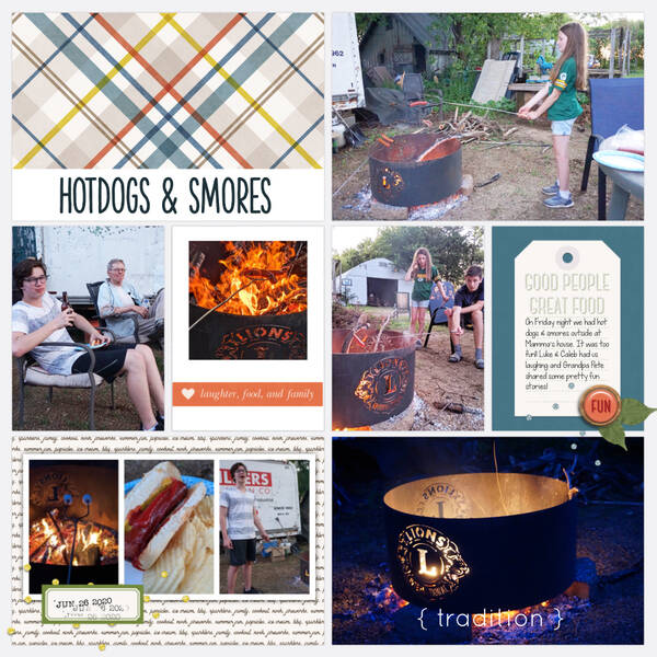 Hot Dogs & S'mores