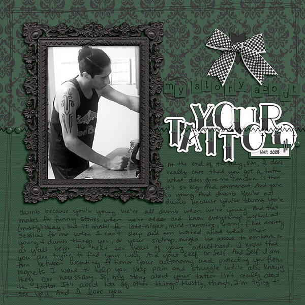 MY Story About YOUR Tattoo