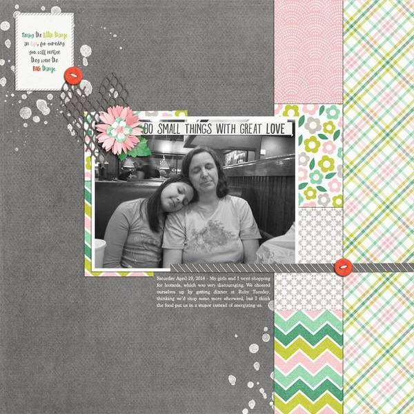 March 23 Slow Scrap - Small Things