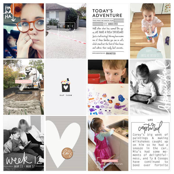 Project Life Wk 12b