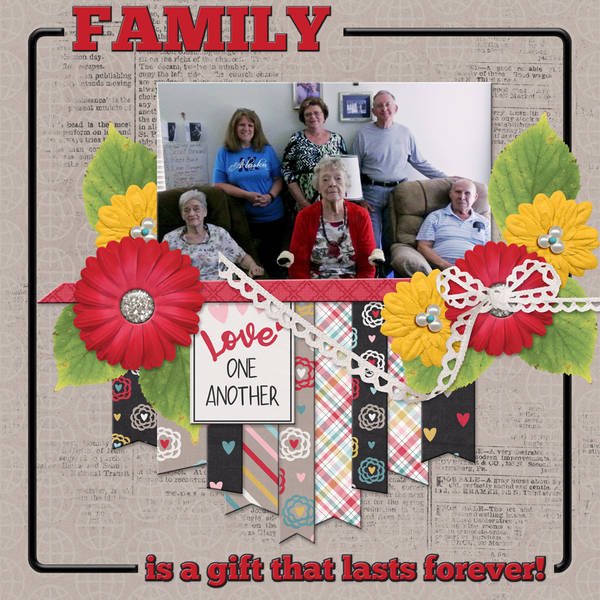 FAMILY is a gift that lasts forever!