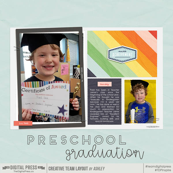 Preschool Graduation LT