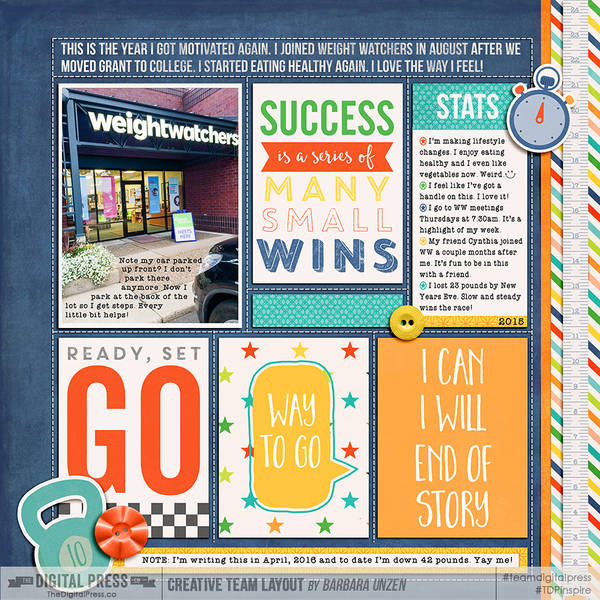 Weight Watchers: I can, I Will, End of Story