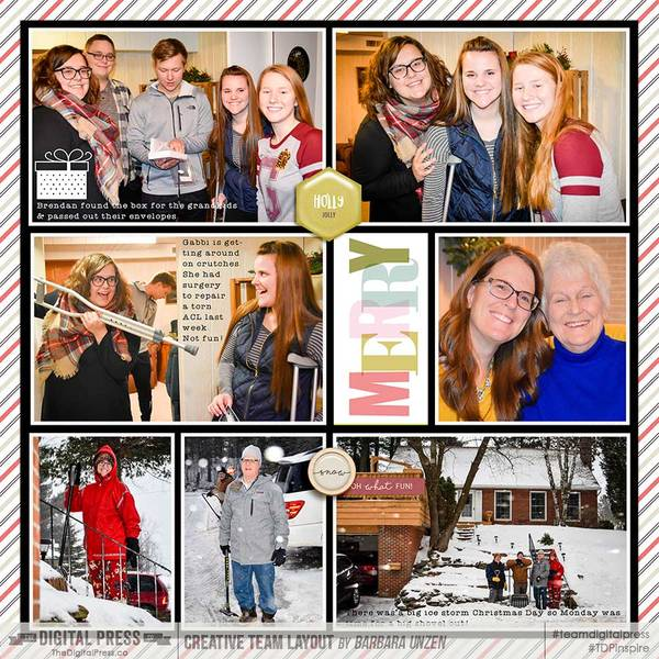 2016 Project Life Week 52 (Christmas Day) (Right Side)