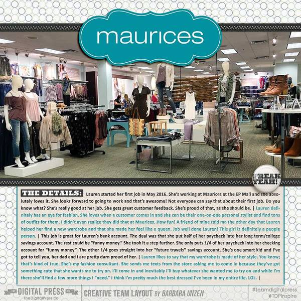 Maurices | First Job