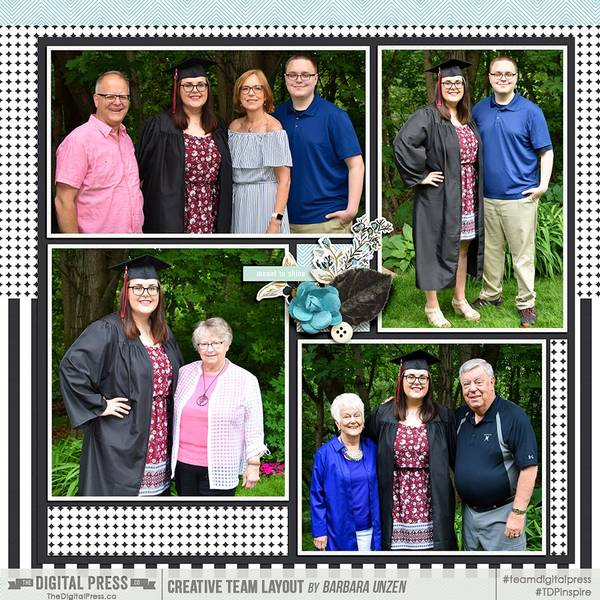 EPHS Graduation - family photos