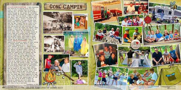I Love Camping : Camping through the years (LETTER HOME - Week #1)