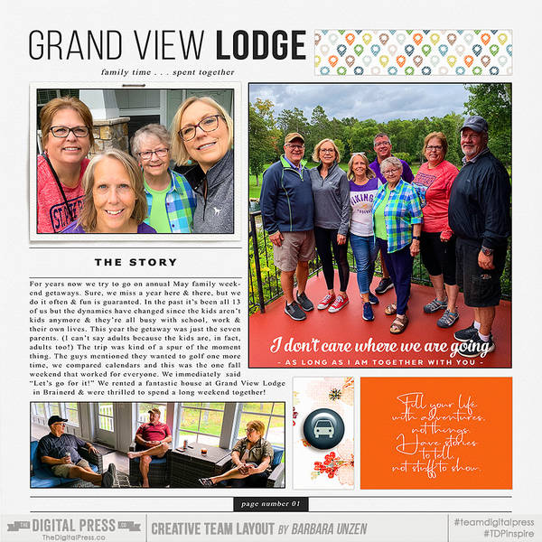 Family Trip to Grand View Lodge #1 (LEFT)