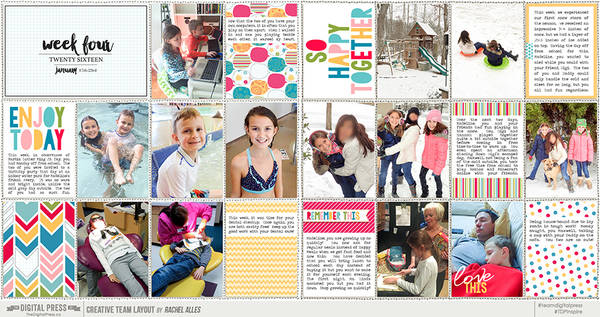 Project Life 2016 Week 04