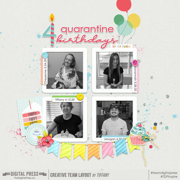 4 quarantine birthdays