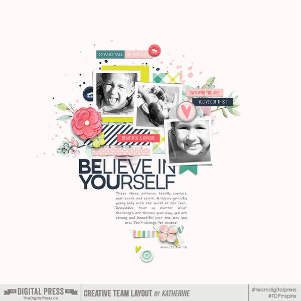 Believe in You (April Spring Challenge)