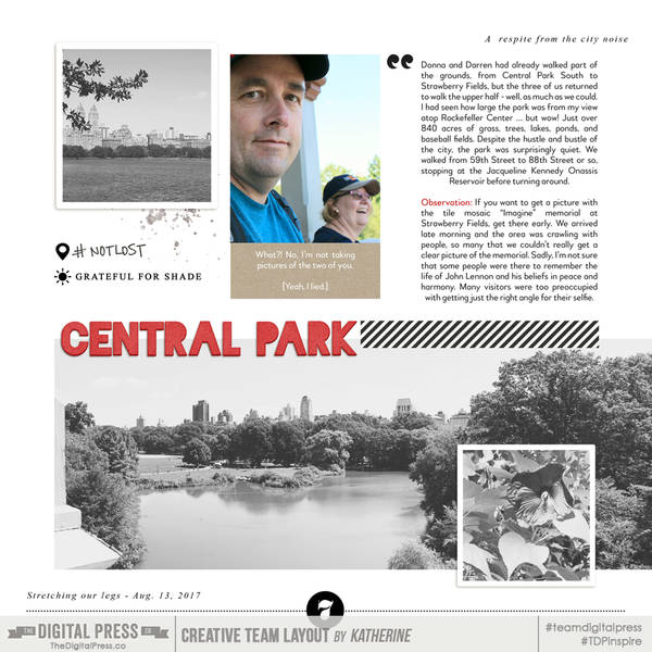 NY Album - Central Park (Page 1)