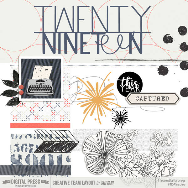 Twenty Nineteen Cover Page