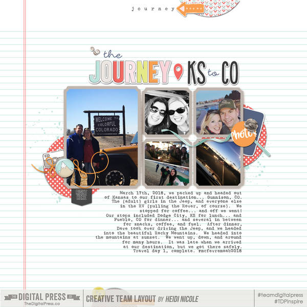 KS to CO | March 2018