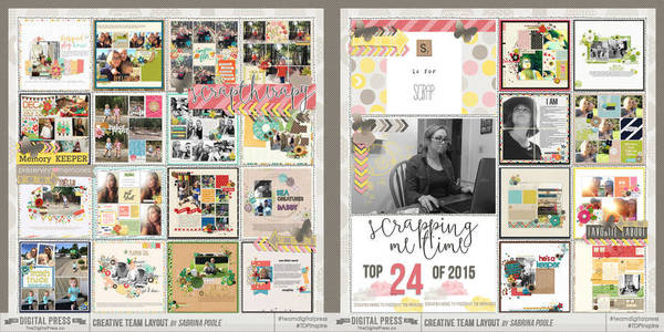 My Top 24 Layouts of 2015 Both
