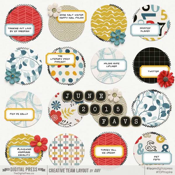 Monthly Faves - June 2015