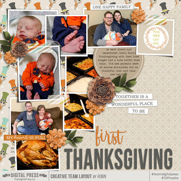 Jack's First Thanksgiving