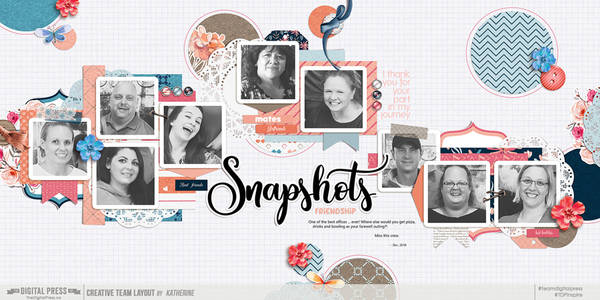 Snapshots (Challenge - Kitchen Sink) - Double-Page