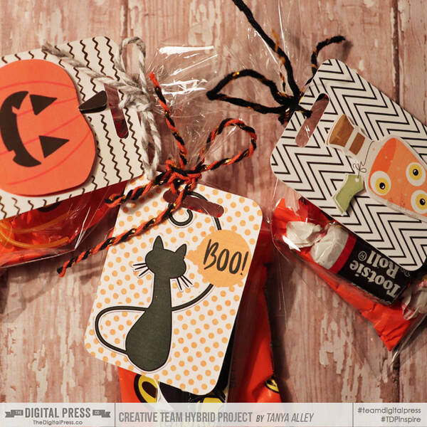 Halloween Treat Tags