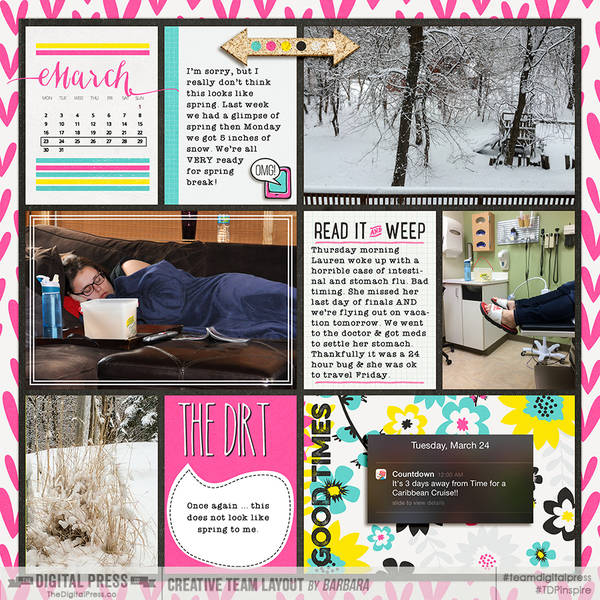 2015 Project Life Week 13