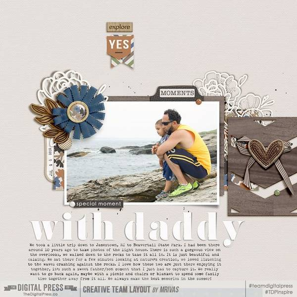 Special moment with daddy