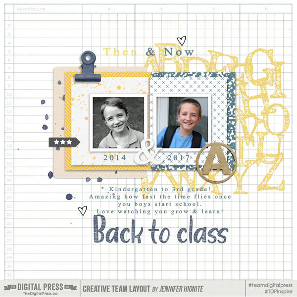 Back to Class | Sept 2018 Split Screen Challenge