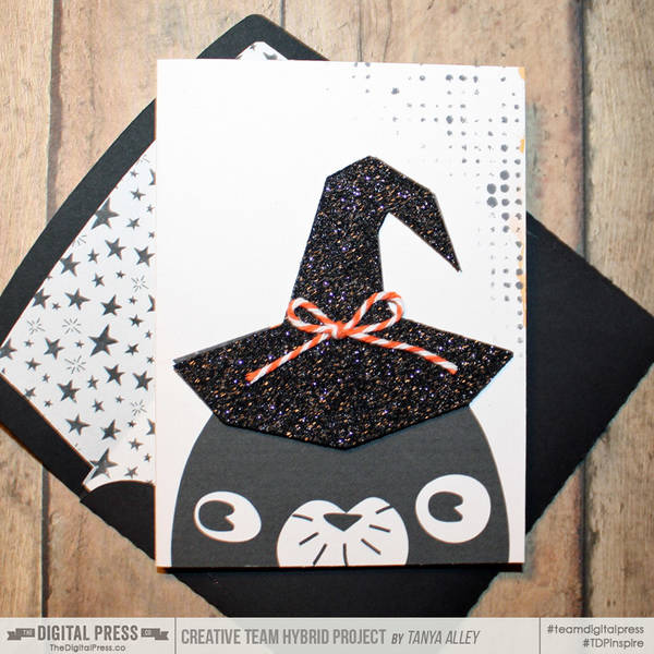 Halloween Card w/matching envie