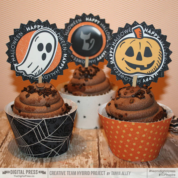 Halloween Party Supplies | Cupcake toppers
