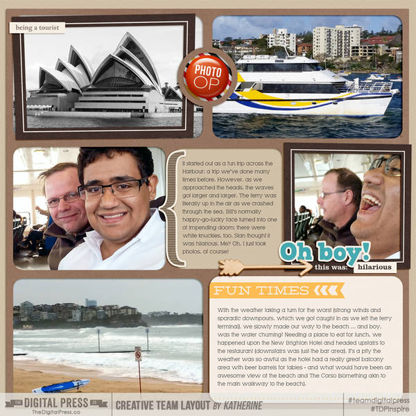 Vacation Album - Unfinished Project - Sydney Page 3