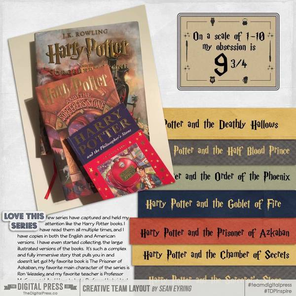 Harry Potter Book Obsession