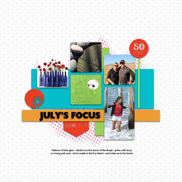 In Focus challenge July 2019