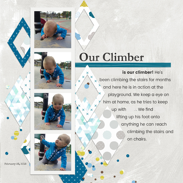 Our Climber March 2018 Template