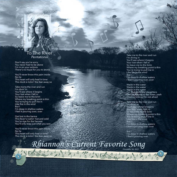 Harmony of Music - Rhiannon Current Favorite Song