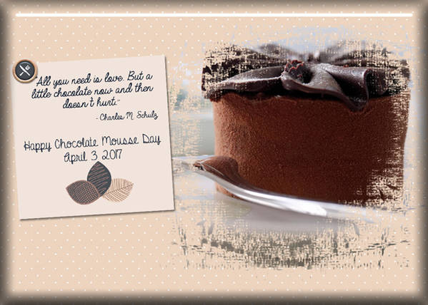 ATC 2017-48 Chocolate Mousse Day