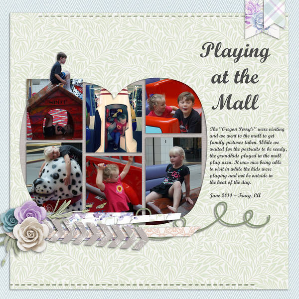 Playing at the Mall