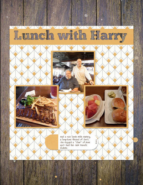 Lunch with Harry