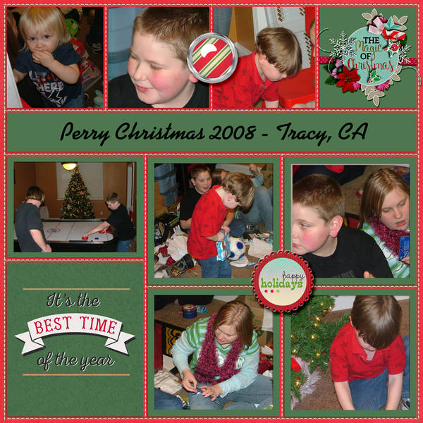 Perry Christmas 2008 - Tracy, CA (page 1)