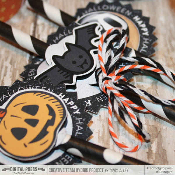 Halloween Party Supplies | Straw Toppers