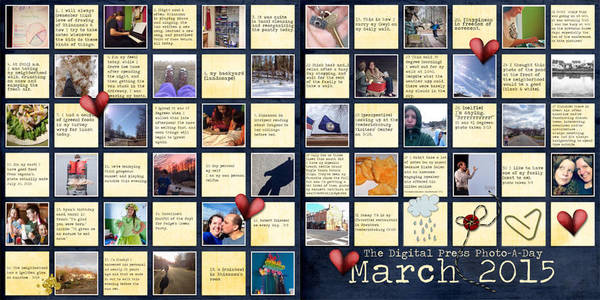Photo-A-Day March 2015