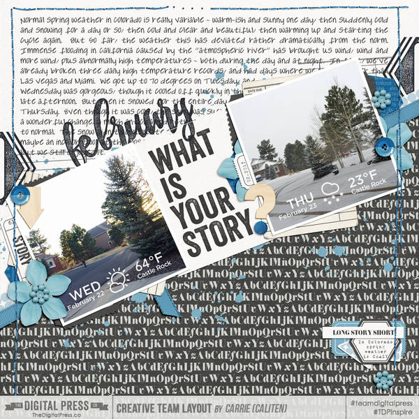 February: What Is Your Story?