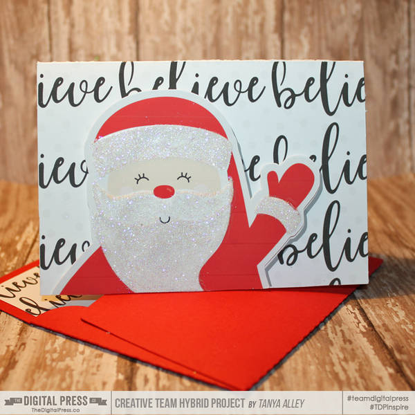 Believe Santa Card