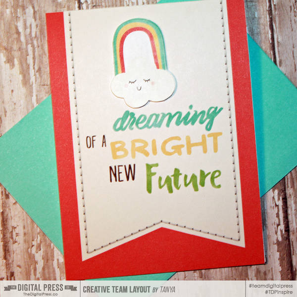 Dreaming Of A Bright Future Card