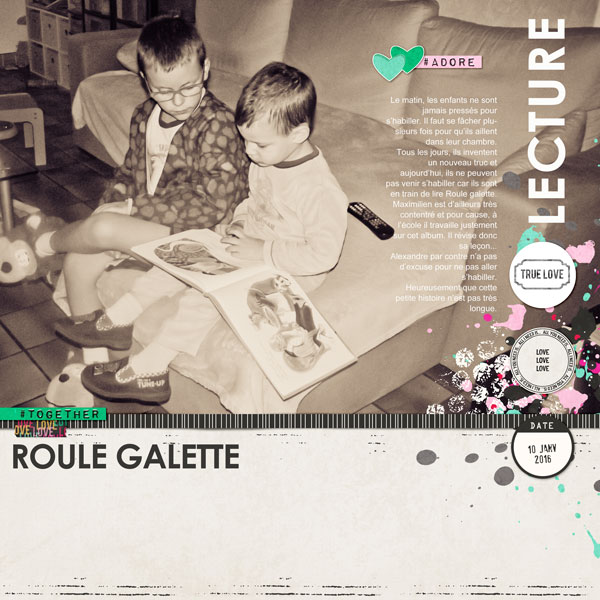 Lecture - Roule galette