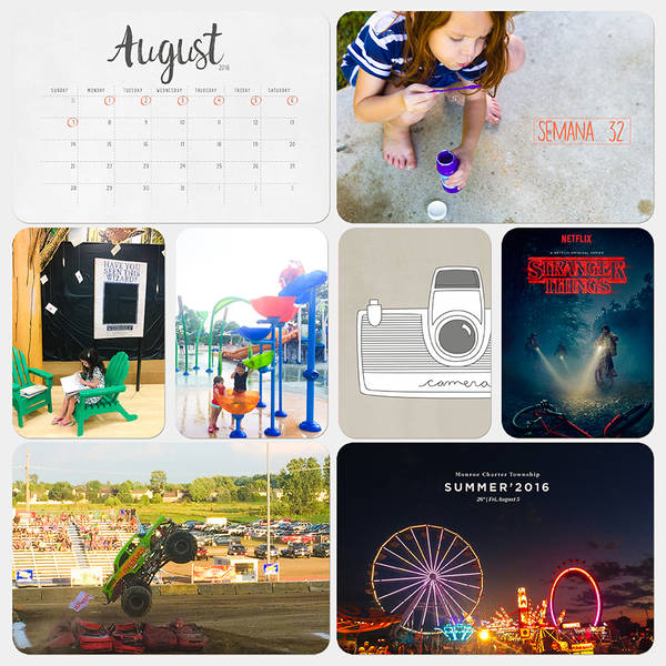 Project Life 2016 - Week 32